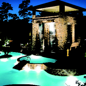 Cool Hotel Pools in Houston